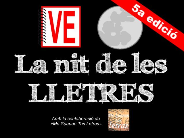 VullEscriure - Especial abril 2017 - Sant Jordi - 5a edició de «La Nit de les Lletres»