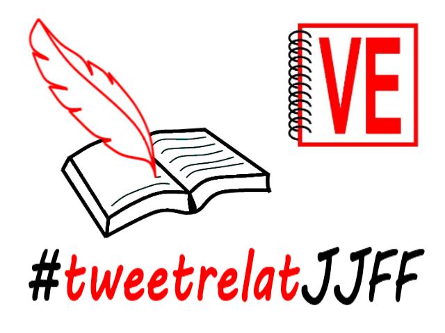 VullEscriure - Especial abril 2015 - Sant Jordi - tweetrelatJJFF