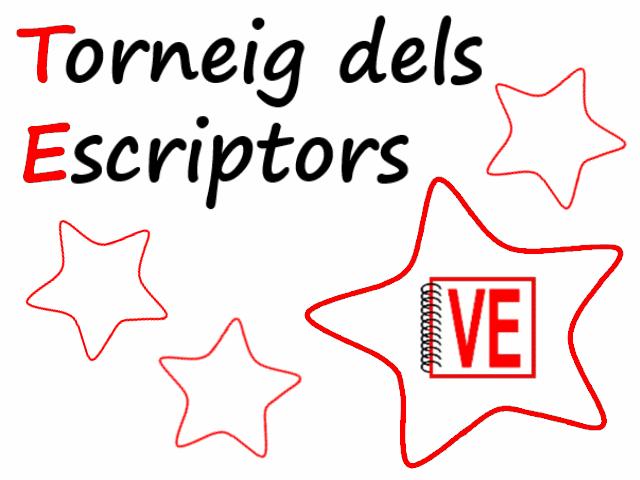 Vull Escriure - Torneig Escriptors 2013-2014 (escriptors honor)